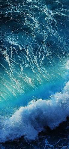 light blue wallpaper iphone x wave iphone x wallpapers free