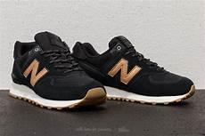 new balance 574 black gum footshop