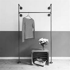 Kleiderstange Aus Rohren - idee stahlrohr wasserrohr kleiderst 228 nder kleiderstange