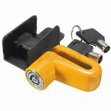 bremsscheibenschloss mit alarm sicherheitsschloss motorrad