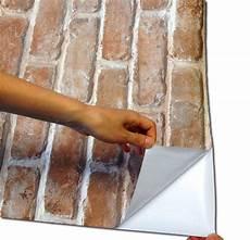 Selbstklebende Folie Wand - tapete selbstklebend dekofolie mauerstein ziegelstein