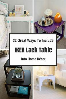 Home Decor Ideas Ikea by 32 Great Ways To Include Ikea Lack Table Into Home D 233 Cor