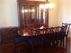 Cherry Wood Dining Room Sets by Cherry Wood Heirloom Pennsylvania House Dining Room Set W