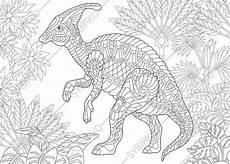 hadrosaur dinosaur dino coloring pages animal coloring