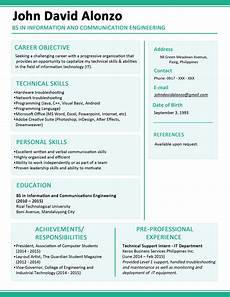 formats resume for fresh graduates call center sles cover letter work experience template