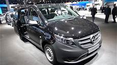 2017 mercedes vito tourer crew 111 cdi exterior and
