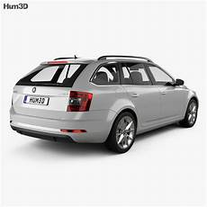 Skoda Octavia Combi 2017 3d Model Vehicles On Hum3d