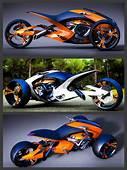 Projeto Concept Trike Designed By Konstantin Laskov