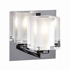 modern sconce wall light with clear glass in polished chrome finish 3481 pc destination lighting