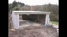 Selbstbausatz Garage by Hoffmann Fertiggaragen 214 Kologischer Garagenbau Aus