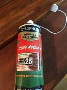 traitement vrillette xylophene xylophene aerosol produits restauration de meubles