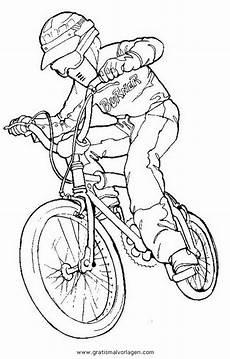 Malvorlage Zum Ausdrucken Fahrrad Bmx 13 Gratis Malvorlage In Sport Verschiedene Sportarten