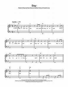 stay sheet music by shakespears beginner piano 36721