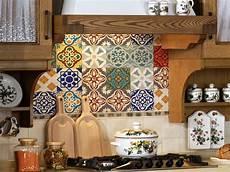 Kitchen Backsplash Stickers Tile Decals Set Of 18 Tile Stickers For Kitchen Backsplash