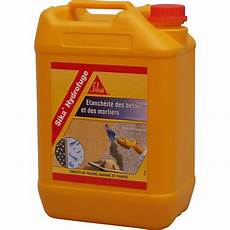 Hydrofuge Pour Mortier Sika 5 L Blanc Leroy Merlin
