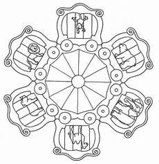 Malvorlagen Mandala Zirkus Mandala Dieren Ausmalbilder Zirkus Mandala