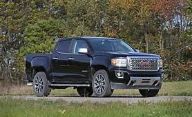 2016 GMC Canyon Diesel First Drive  Review Car And Driver