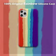 Original Silicone Colorful by 100 Original Colorful Rainbow Silicone For Iphone