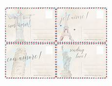 traditional postcard template free printable postcards from around the world word