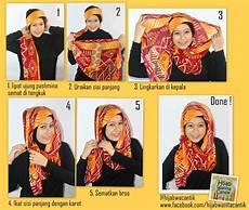 Tutorial Cantik Pashmina Ragam Muslim