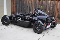Black Ariel Atom  California Registered Rare Cars For