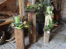 Holzbalken Deko Garten - alte holzbalken im fr 252 hlingsgewand gartendeko franz