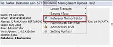 cara input nomor seri faktur pajak pada aplikasi efaktur