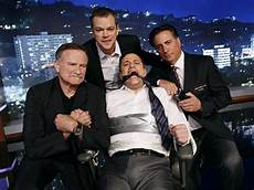 matt damon jimmy kimmel matt damon kidnaps jimmy kimmel hosts jimmy kimmel