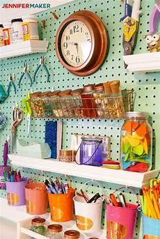 craft room pegboard accessory ideas maker