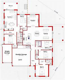 dual occupancy house plans dual living home on corner block in 2020 house plans