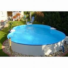 pool set classic einbau und aufstellbecken achtform 525 cm