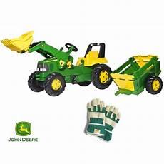 rolly toys rollyjunior traktor na pedały deer