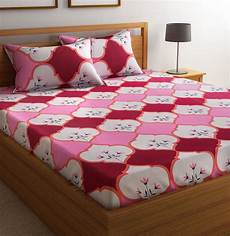 flipkart smartbuy 104 tc cotton double abstract bedsheet buy flipkart smartbuy 104 tc cotton