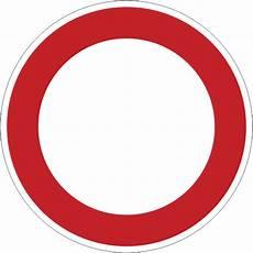verkehrsschild durchfahrt verboten 500 mm