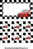 Cars Party Decoration  Free Printable For Birthday