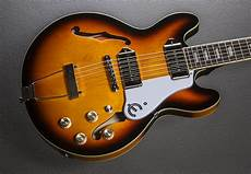 epiphone casino coupe review casino coupe vintage sunburst dave s guitar shop