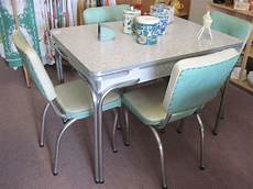 Vintage Kitchen Dinette Sets by Cracked Table And Chairs Vintage Kitchen