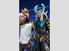 Download 480x800 wallpaper ragnarok and drift, fortnite