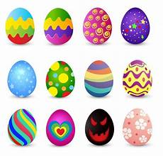 Bunte Ostereier Bilder - colored easter eggs vector