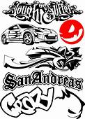 Car Bike Vehicle Graphics Vinyls Decals Vector Free