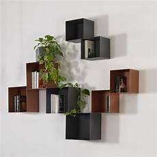 mensole cubo mensole cubo da parete in acciaio design moderno