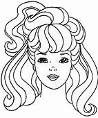 Barbie 17 Cartoons Coloring Pages Page & Book For