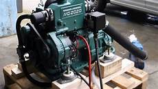 volvo penta 20hp md2020 for sale demo run