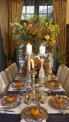 Decorations For The Table by 27 Cozy And Eye Catching Thanksgiving Table Settings