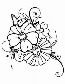 Ausmalbilder Blumen Schmetterlinge Schmetterling 11 Ausmalbilder Kostenlos