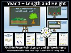 measurement worksheets 1386 length and height year 1 teaching resources