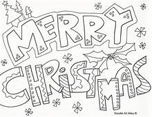 Merry Christmas Coloring Pages To Download And Print For