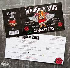 Rock And Roll Wedding Invitations wedrock rock n roll wedding invitations wedfest