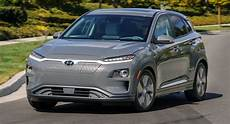 Hyundai Electric Car by Us Spec Hyundai Kona Electric Promises An Impressive 250