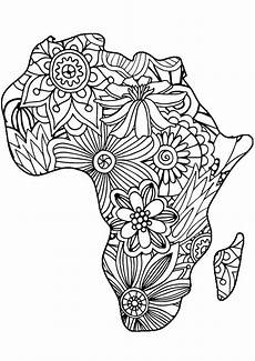 coloring pages africa lola